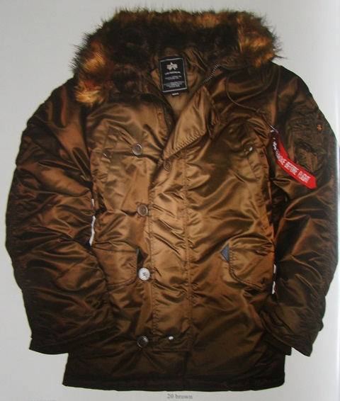 US Fliegerjacke N3B, ALPHA-Industries