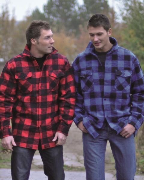 Holzfällerhemd,     dicke Ausführung
