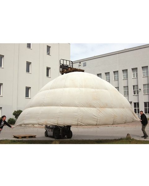 Fallschirmkappe T10, gebraucht