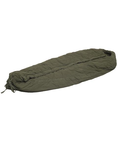 US Daunenschlafsack, Mumie, intermed. cold, gebr.