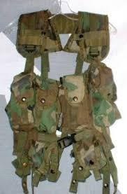 US Takt. Load Bearing Vest, Kampfweste, altes Modell