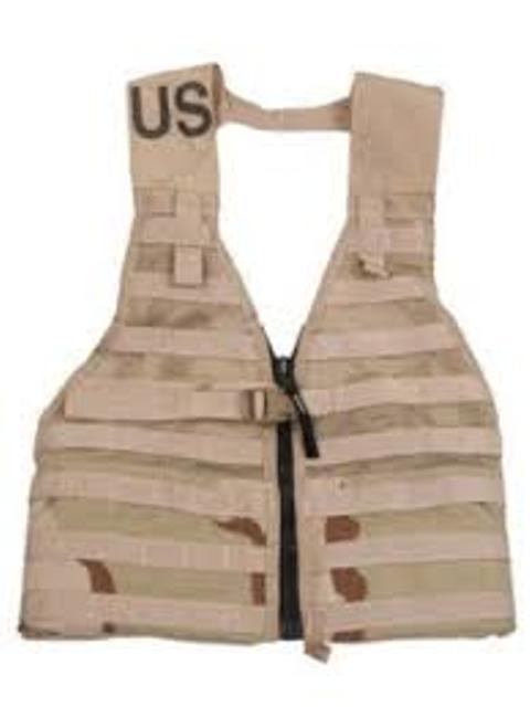 US Takt. Load Bearing Vest, Kampfweste, Molle mit Netzgewebe