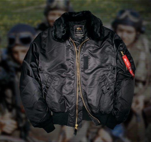 US Fliegerjacke B15, ALPHA-Industries